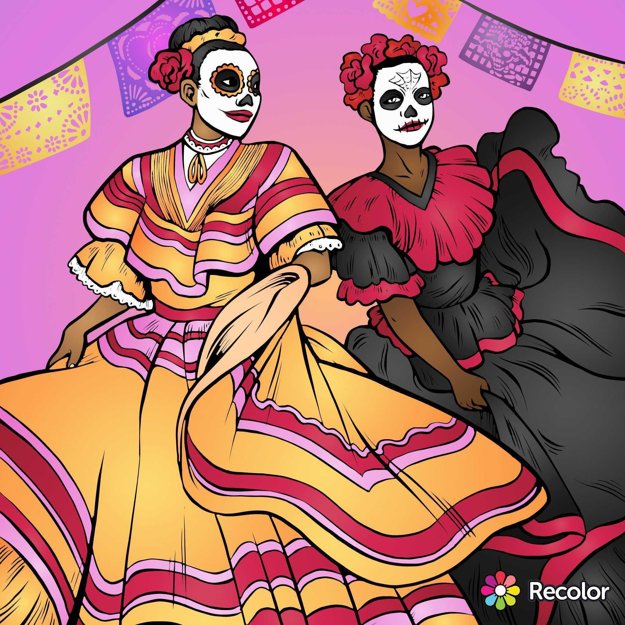 Día de los Muertos, the colorful Day of the Dead!